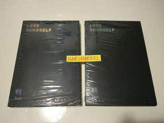 WTS BTS Love Yourself Tear U and R version