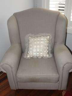 Hand made White pillow