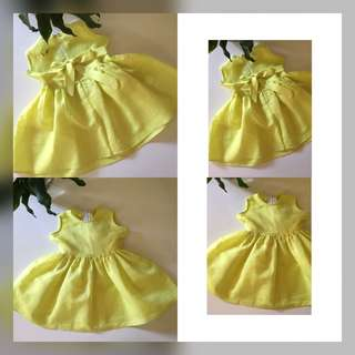 Green Lime Dress 1-2 Y