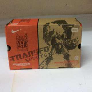 Transformers Sports Label Nike Free 7.0 Megatron MIB Takara Tomy
