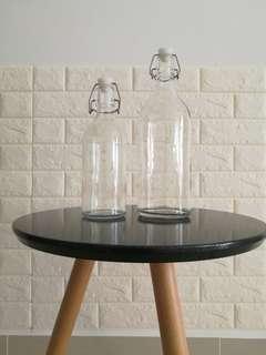 Ikea Glass Bottle