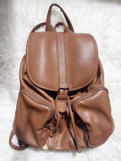 FOREVER 21 Vintage Brown Leather Bag
