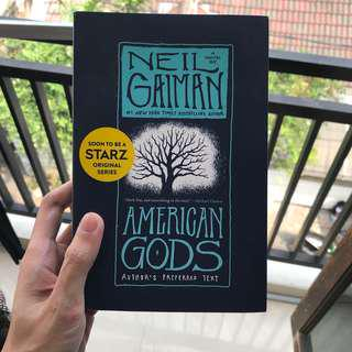American Gods by Neil Gaiman (Author's Preferred Text Edition)