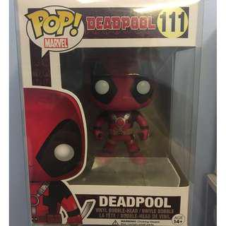 Deadpool with Swords