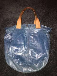 Country Road - Navy tote bag