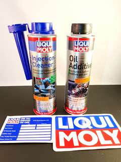 Liqui Moly Fuel Injection Cleaner (Free MOS2 oil additive)