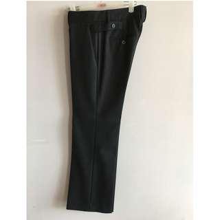 Zara Women Trendy Pants (Dark Grey)