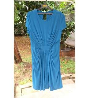 blue pretty dress