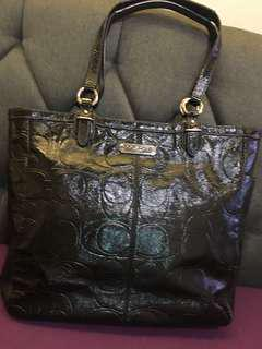 Authentic Coach large shoulder bag