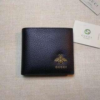Gucci Black Bee Wallet