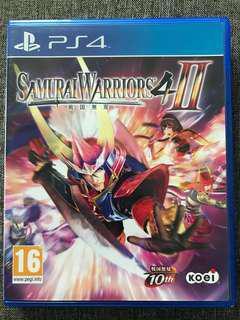 Ps4 Game Samurai Warriors 4 II