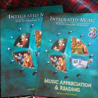 中學音樂書 music textbook