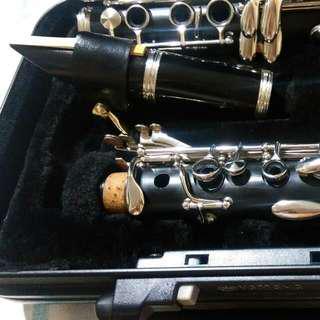 Yamaha 日本製2016製 黑膠管 CLARINET student Model 三葉 豎笛 單簧管 新手 學生 管弦樂 管樂 黑管 日本製 日本購入 日本進口 日本 單簧管 又稱豎笛、黑管,是一種木管樂器Chalumeau Ycl 250