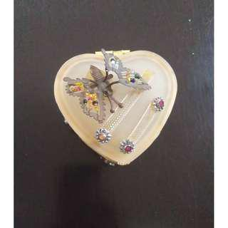 Elegant Small Heart Shaped Jewelry Organizer PHP 30 Only!