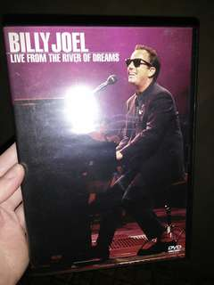 Billy Joel DVD live from the river of dreams