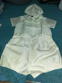 Baby boy baptismal formal wear - 6mos
