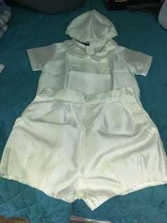 Baby boy baptismal formal wear - 6mos
