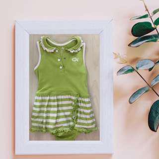 Okie Dokie Green Dress