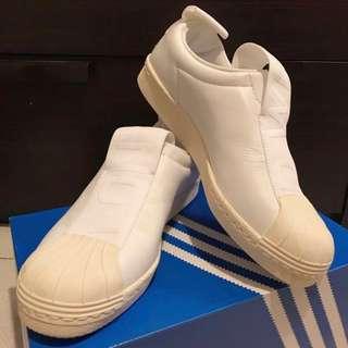 Adidas slip on 白色 皮 波鞋 sneaker Shoes Nike vans NMD Air Jordan Hollister Jack Wills NMD STAN SMITH puma new balance converse stella 運動 行山 lululemon puma