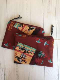 Indian Flat Pouch