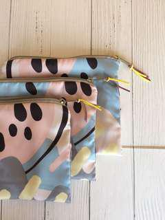 Pink Flat Pouch