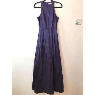 Purple maxi dress/gown