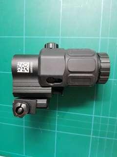 Wbb toy gun EOTECH g33 3x magnifier