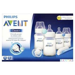 Philips AVENT Classic+ Newborn 6 pcs Starter Set 嬰兒奶樽套裝