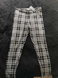 Beginning boutique checkered pants