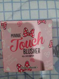 PRELOVED MURAH ETUDE HOUSE MINNIE TOUCH BLUSHER