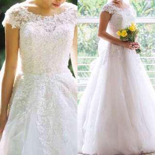 LaceBridge Wedding Gown