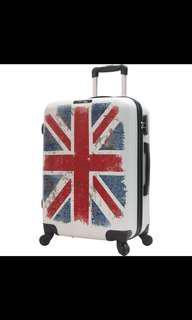 行李箱 喼 行李 luggage suitcase mihk 英國旗