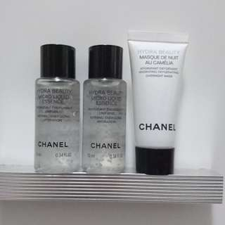 Chanel Hydra Beauty Sample Set 山茶花保濕系列試用裝