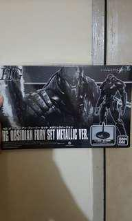 HG Pacific Rim Obsidian Fury Metallic Limited Ed