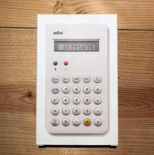Supreme Calculator (Braun)