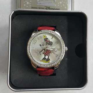 米妮水鑽錶