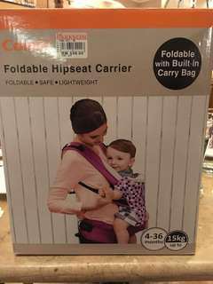 🚚 Combi Foldable Hipseat carrier