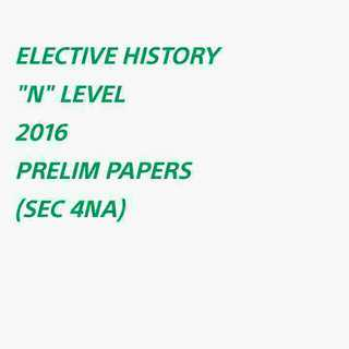 ($10) NA E HIST EXAM PAPERS SOFTCOPY