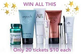 Raffle - Full of beauty products