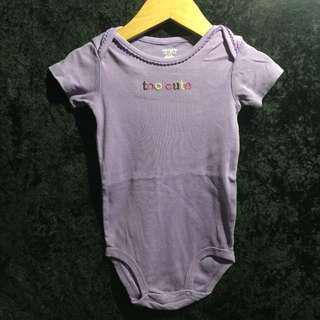 Carter's Purple Bodysuit