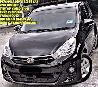 SAMBUNG BAYAR MYVI 1.3 SE AUTO