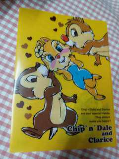 日本 Disney Chip N Dale  A4 File