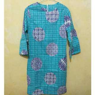 Mini Dress motif batik