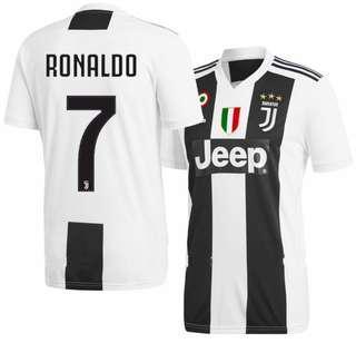 Top Quality [BNIB] Juventus 18/19 Jersey - Cristiano Ronaldo No. 7