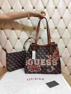 Guess Tote Bag and Pouch