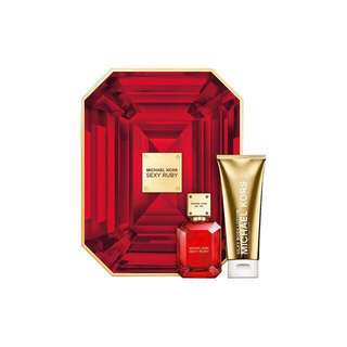 GLANZ🌷SHOCKING DEAL🌷MICHAEL KORS PERFUME SEXY RUBY GIFT SET LIMITED EDITION