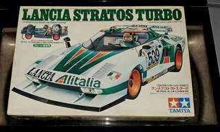 Tamiya 1/24 Lancia stratos turbo 賽車 模型