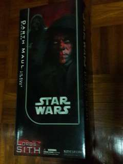 Sideshow Collectibles Star Wars 1/6 Scale, Darth Maul. MIB