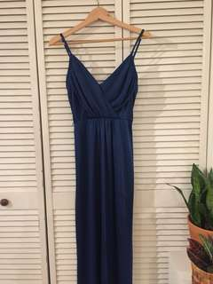 Blue Formal Maxi Dress