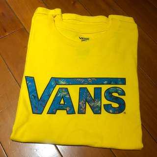 Vans T-shirt 短袖 黃色